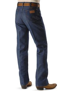Wrangler 13MWZ Cowboy Cut Rigid Original Fit Jeans, Indigo, hi-res