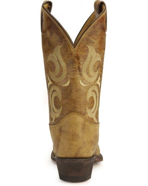Justin Bent Rail Cowboy Boots - Pointed Toe, Tan, hi-res