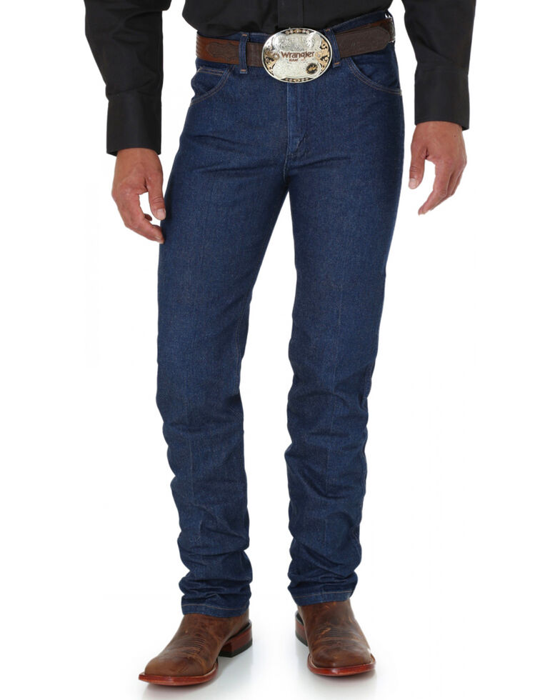 Wrangler 36MWZ Premium Performance Cowboy Cut Rigid Slim Fit Jeans, Indigo, hi-res