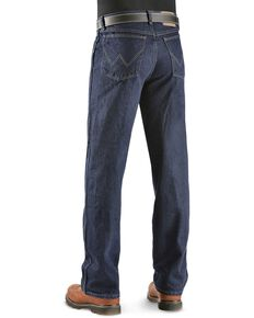 Wrangler Rugged Wear Classic Fit Jeans - Big , Indigo, hi-res