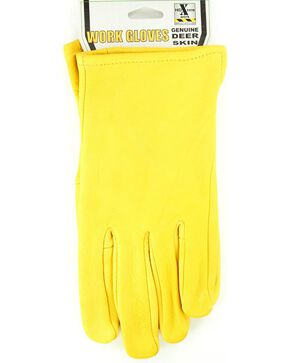 HD Xtreme Deerskin Gloves, Tan, hi-res