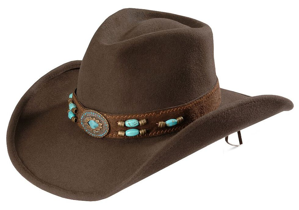 07886590877 Bullhide Jewel of the West Wool Cowgirl Hat