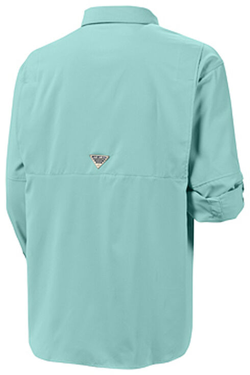 Columbia Men's PFG Tamiami II Long Sleeve Shirt, Forest Green, hi-res