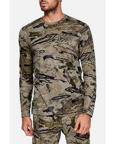 Under Armour Men's Barren Iso-Chill Brushline Long Sleeve Work Shirt , Camouflage, hi-res