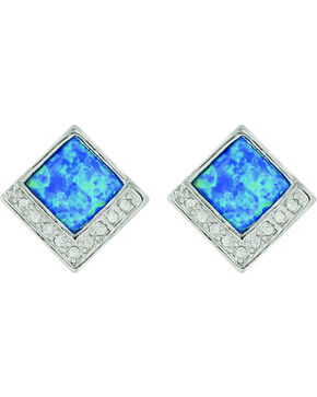 Montana Silversmiths Women's River of Light Infinity Pool Earrings, No Color, hi-res
