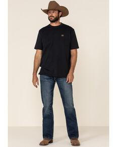 Ariat Men's M4 Pine Low Rise Stretch Boot Cut Jeans , Blue, hi-res