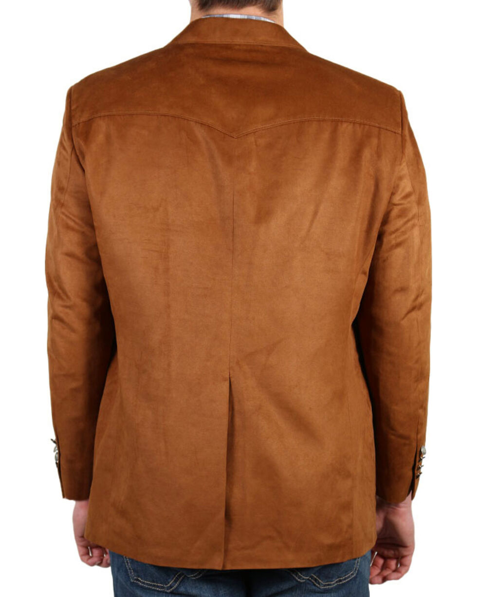 Cody James Men's Brown Sport Coat , Rust Copper, hi-res