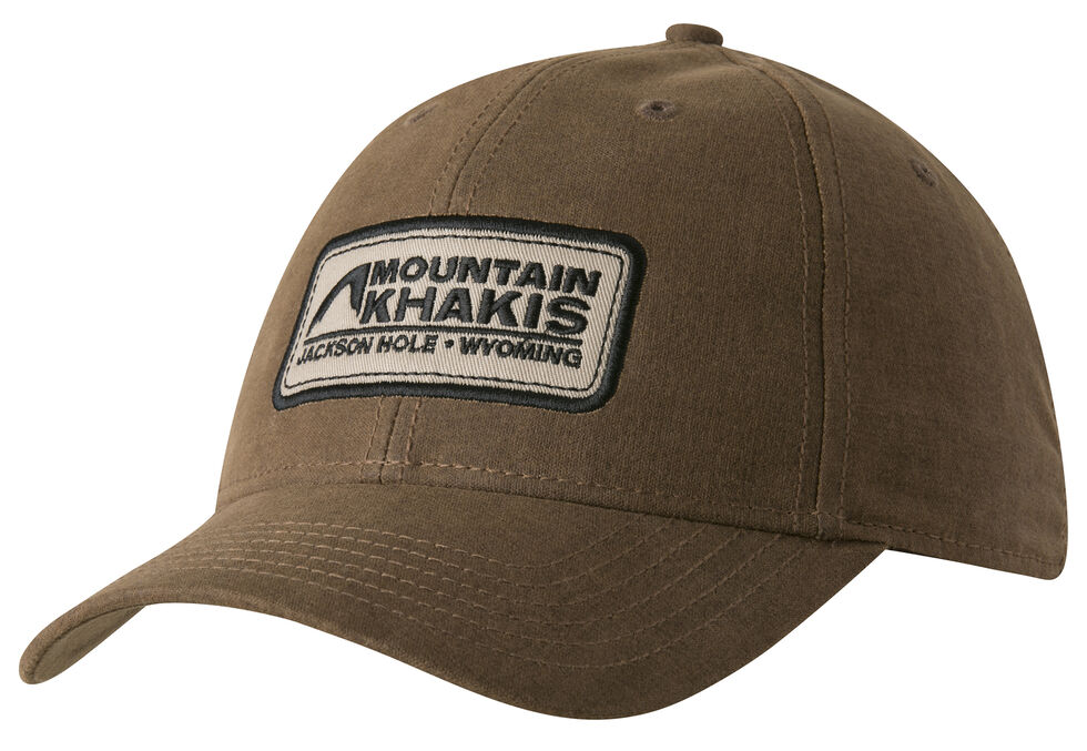 Mountain Khakis Men's Brown Waxed Cotton Cap , Brown, hi-res