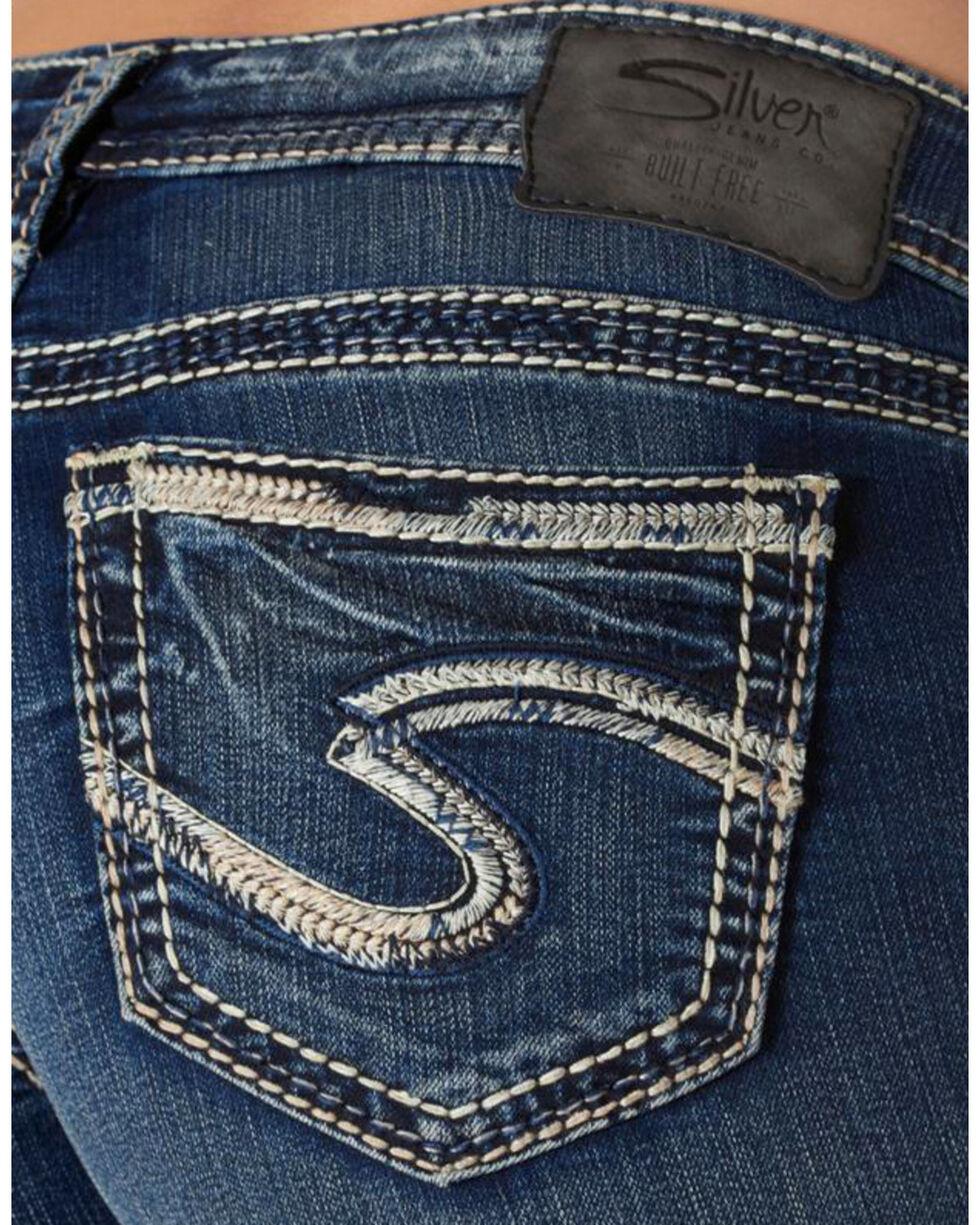 Silver Women's Aiko Super Skinny Jeans  , Blue, hi-res