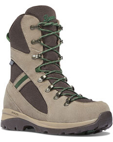 "Danner Women's Brown/Buff Wayfinder 8"" Waterproof Boots - Round Toe, Brown, hi-res"