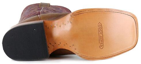 Cody James Men's Brown Xala Western Boots - Square Toe, Brown, hi-res