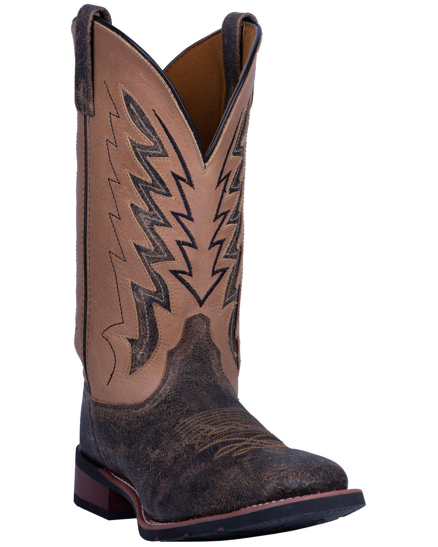 Dalton Western Boots - Wide Square Toe