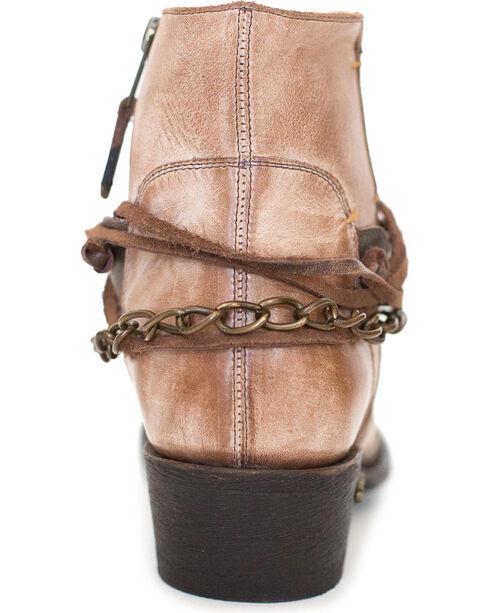 Miss Macie Women's Light Brown Desert Dancer Short Boots - Round Toe , Lt Brown, hi-res