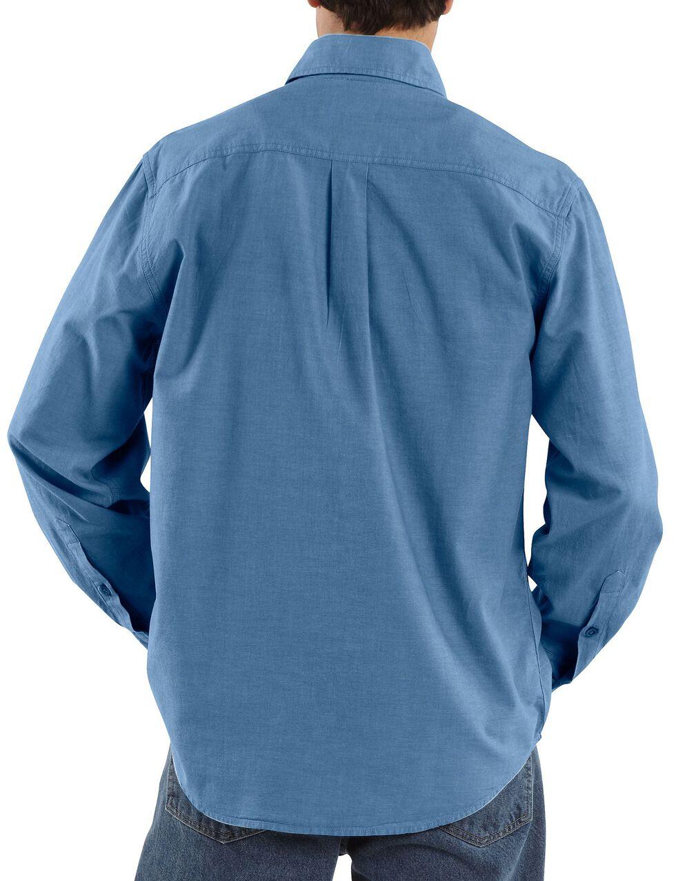 Carhartt Fort Long Sleeve Work Shirt - Big & Tall, Chambray, hi-res