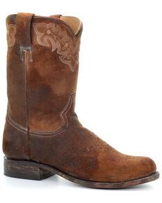 Corral Men's Lee Lamb Western Boots - Narrow Square Toe, Chocolate, hi-res