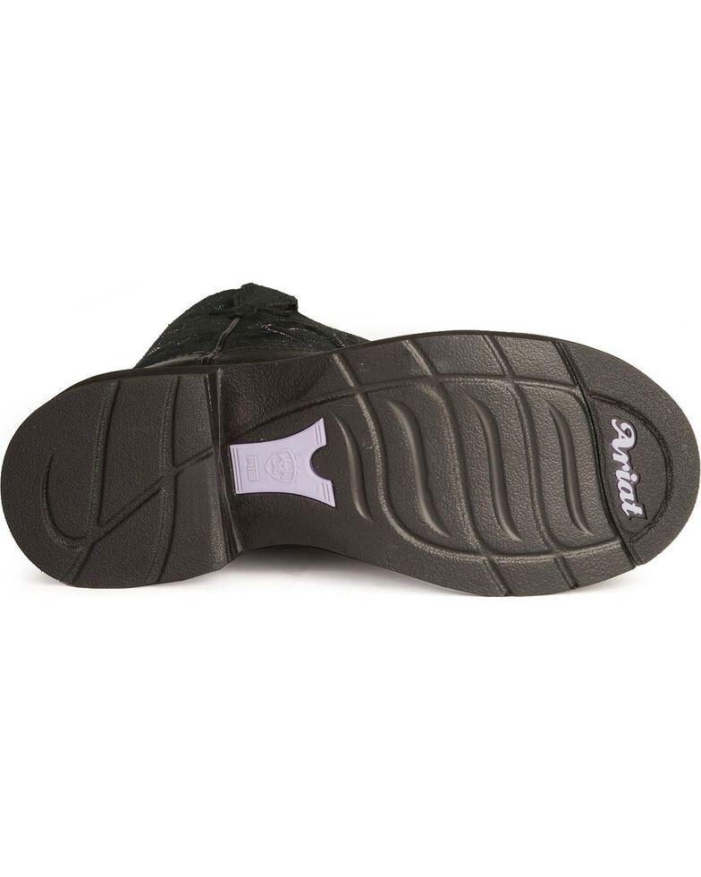 Ariat Fatbaby Black Deertan Cowgirl Boots, Black, hi-res