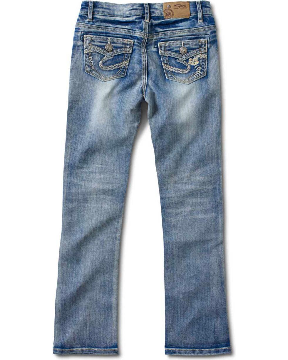 Silver Girls' Tammy Bootcut Jeans - 4-6X, Denim, hi-res