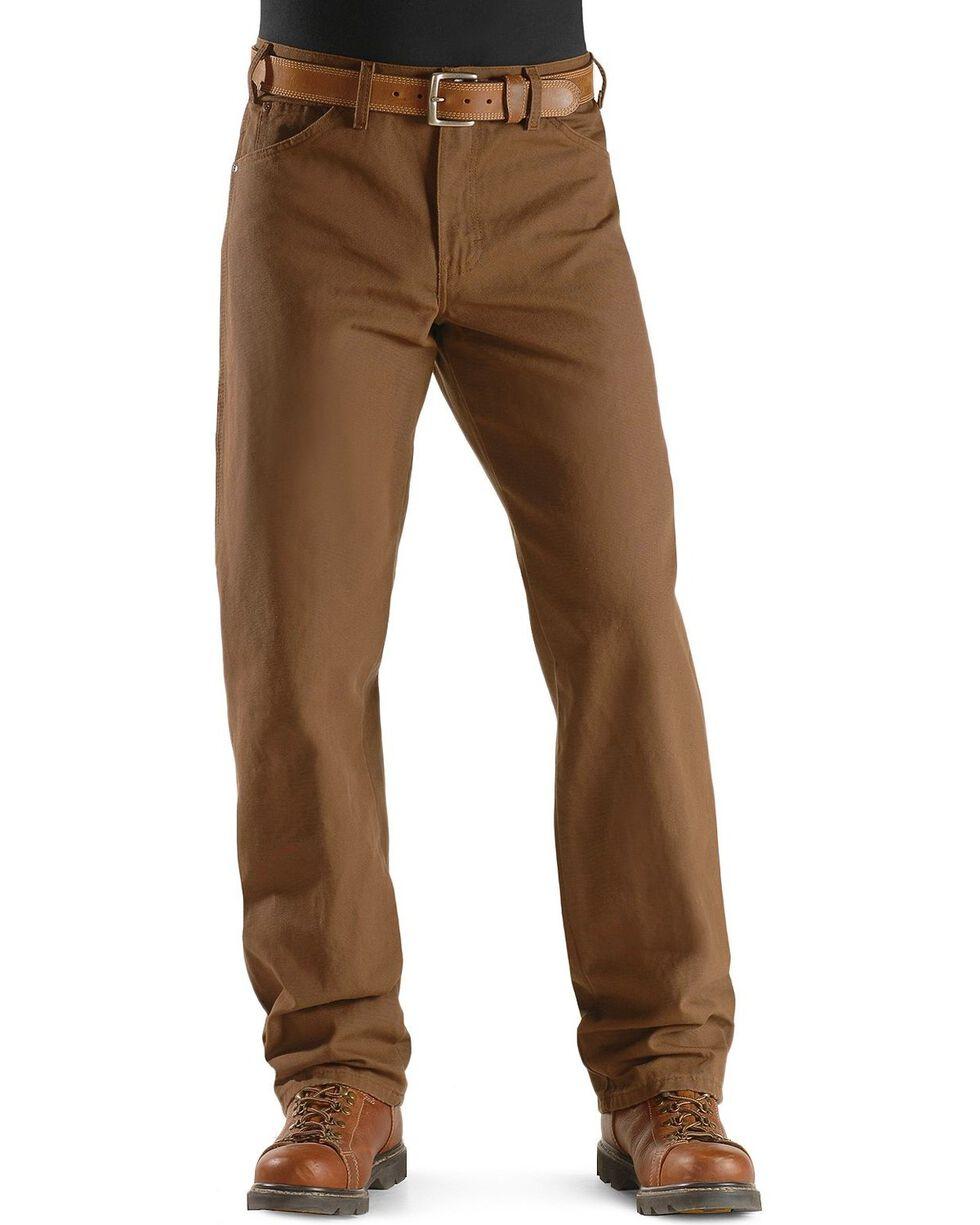 Dickies Duck Twill Work Jeans, Brown, hi-res