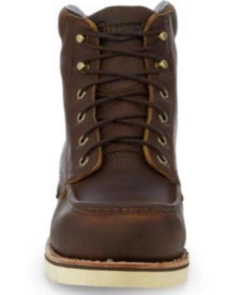 "Chippewa Men's 6"" Edge Walker Waterproof Work Boots - Composite Toe, Brown, hi-res"