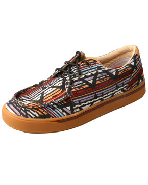 Twisted X Kids' Hooey Loper Shoes - Moc Toe, Multi, hi-res
