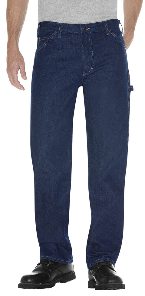Dickies Relaxed Fit Carpenter Jeans - Big & Tall, Rinsed, hi-res