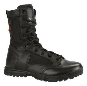 5.11 Tactical Men's Skyweight Side-Zip Leather Boots, Black, hi-res