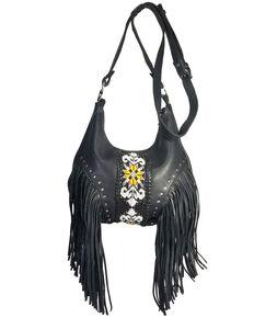 Kobler Leather Women's Sedona Crossbody Bag, Black, hi-res