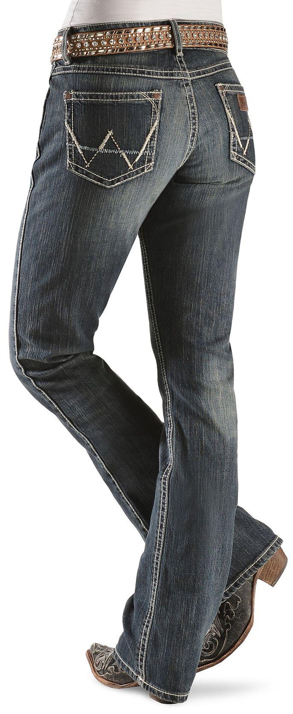 Wrangler Women's Little Rock Retro Mae Jeans , Denim, hi-res