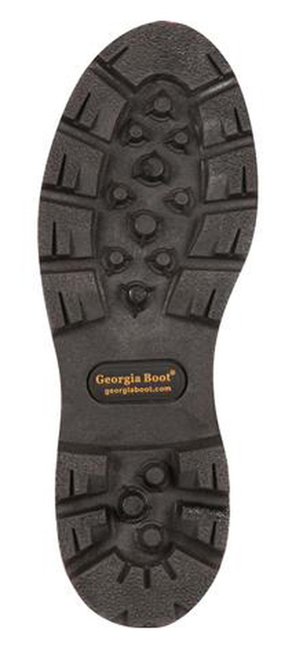 Georgia Homeland Waterproof Work Boots - Steel Toe, Brown, hi-res