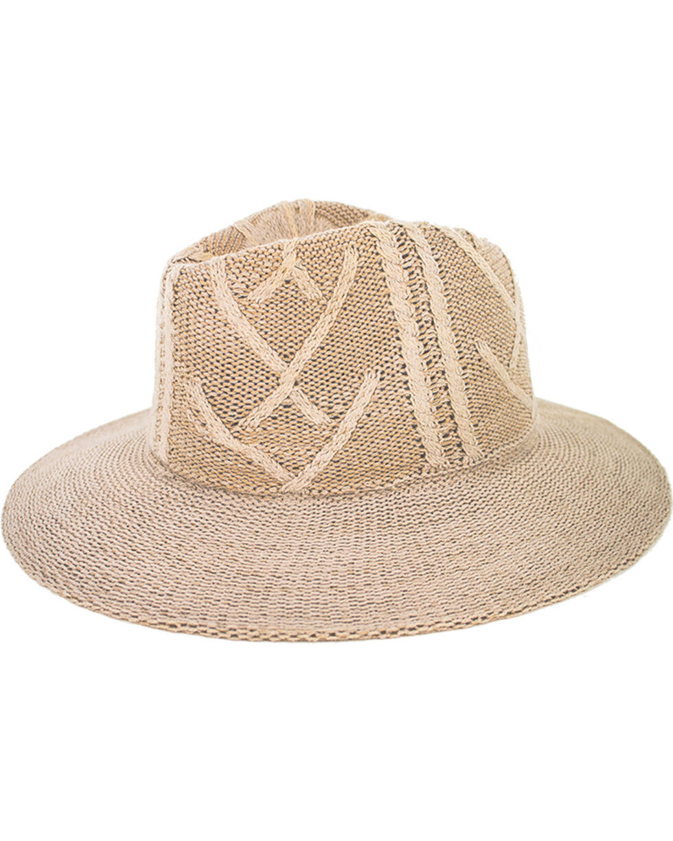 Peter Grimm Women's Jove Acrylic Knit Fedora, Ivory, hi-res