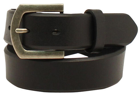 Nocona Boys' Basic Belt, Black, hi-res