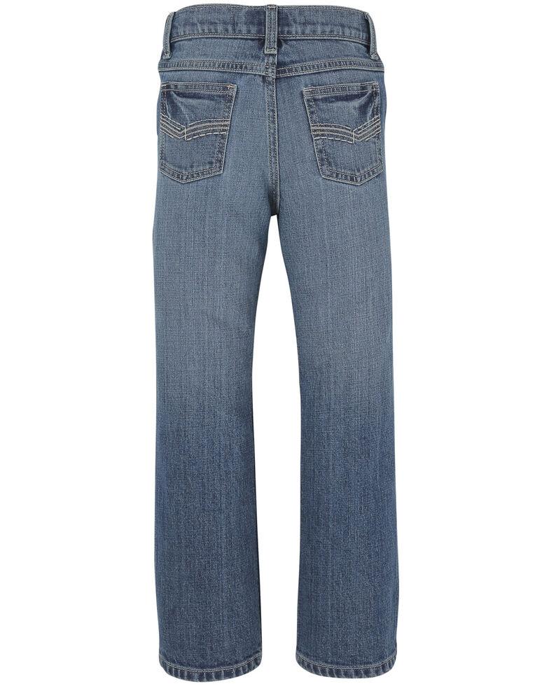 Wrangler 20X Boys' 4-7 No. 42 Roxton Vintage Slim Boot Jeans , Blue, hi-res