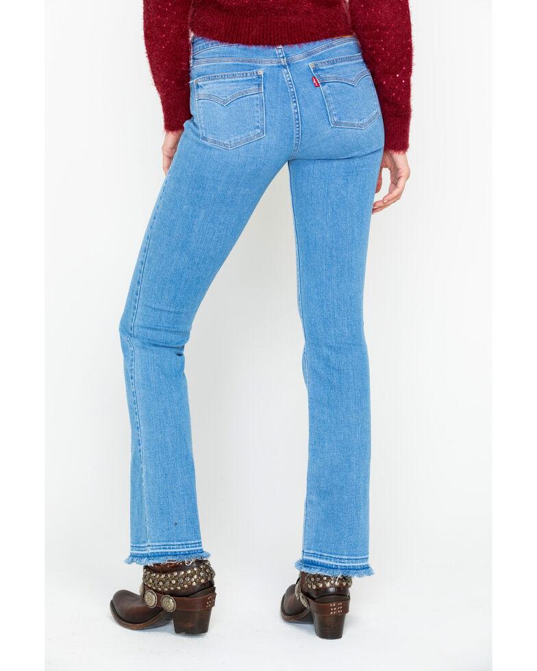Levi's Women's 715 Vintage Bootcut Jeans, Blue, hi-res