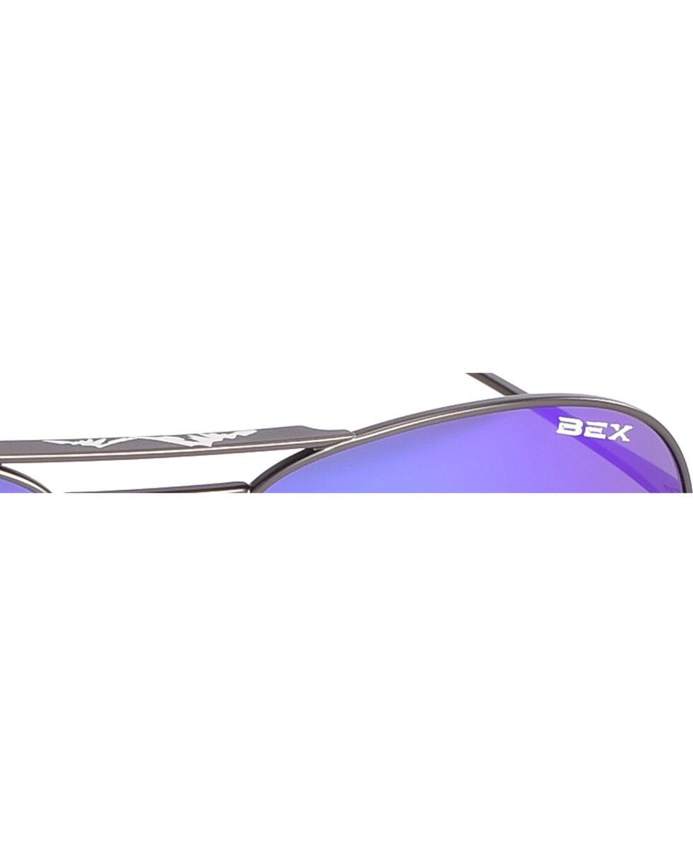 Bex Gunmetal Wesley Sunglasses , Dark Grey, hi-res
