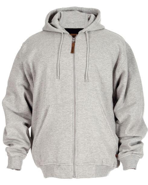 Berne Original Hooded Sweatshirt, Grey, hi-res