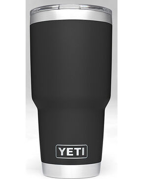 Yeti Black 30oz. Sliding Lid Rambler , Black, hi-res