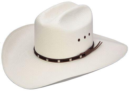 Resistol George Strait Del Rio 8X Shantung Straw Cowboy Hat, , hi-res