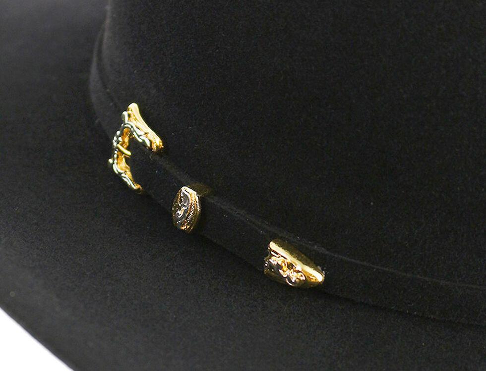 Cody James 10X Black Fur Felt Hat, Black, hi-res