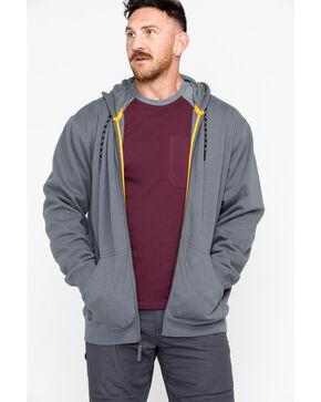 Hawx Men's Zip-Front Work Hoodie, Charcoal, hi-res