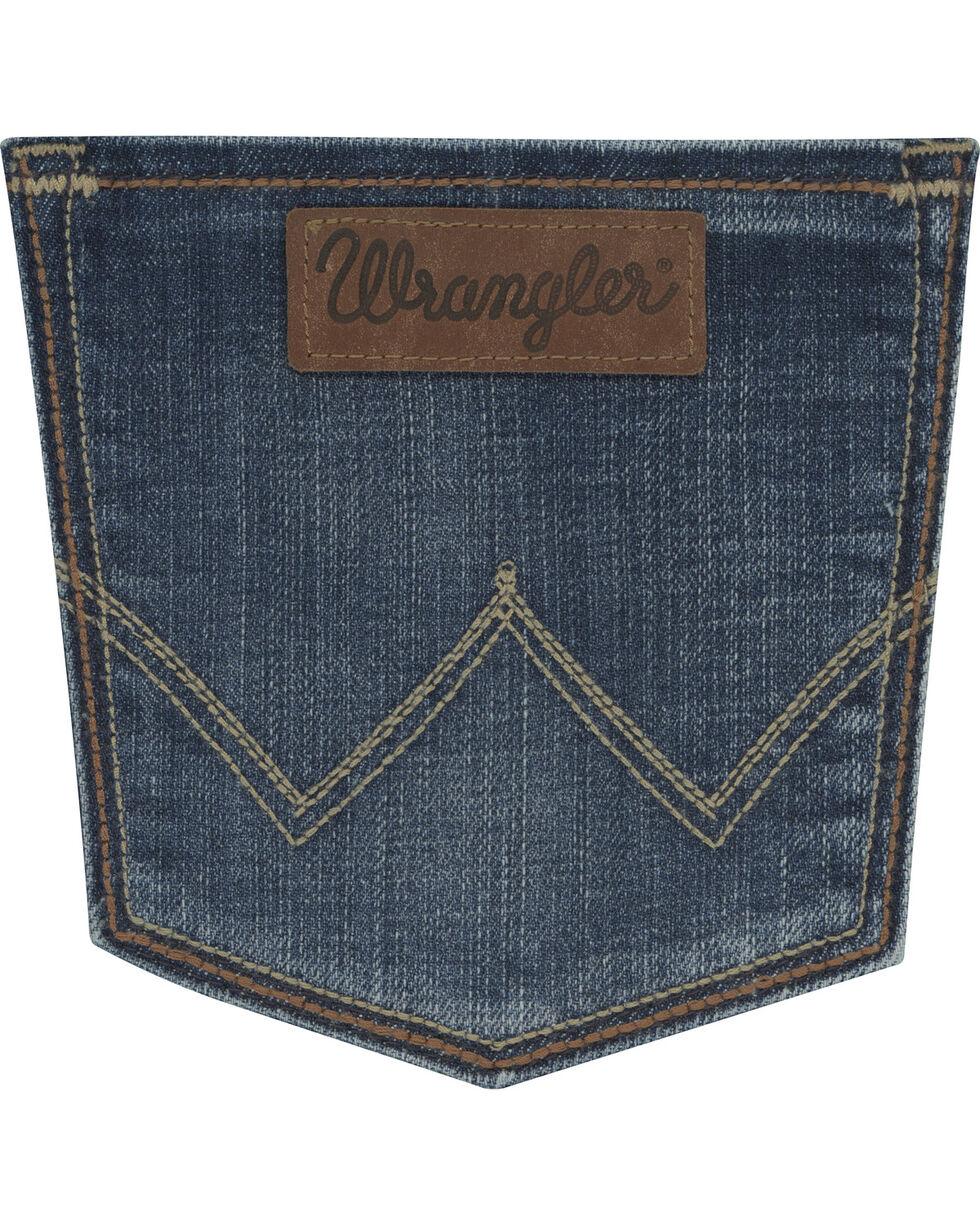 Wrangler Women's Medium Wash Retro Sadie Jeans, Indigo, hi-res