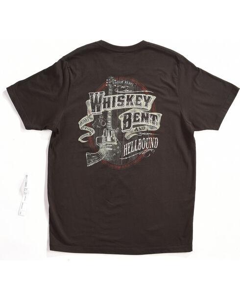 Rodeo Rebel Men's Whiskey Bent Graphic T-Shirt, Black, hi-res