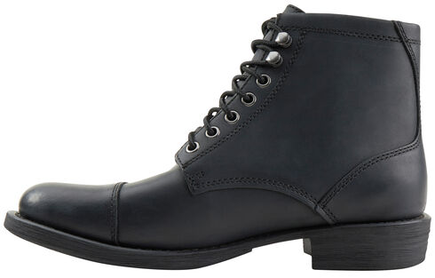 Eastland Men's Black High Fidelity Cap Toe Boots , Black, hi-res