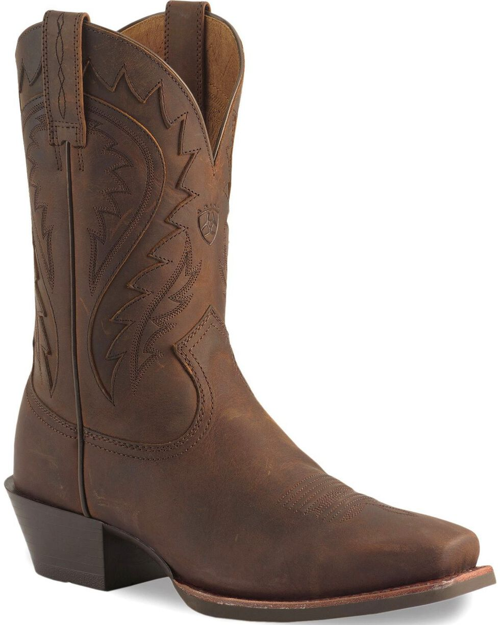 Ariat Legend Phoenix Cowboy Boots - Square Toe, Toast, hi-res