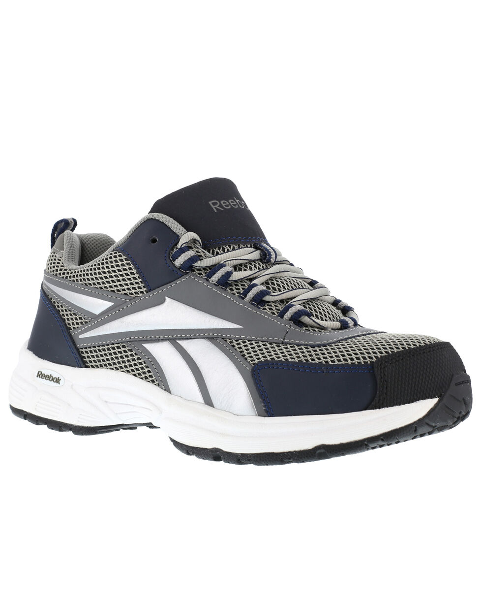 Reebok Men's Kenoy Cross Trainer Work Shoes - Steel Toe, Grey, hi-res