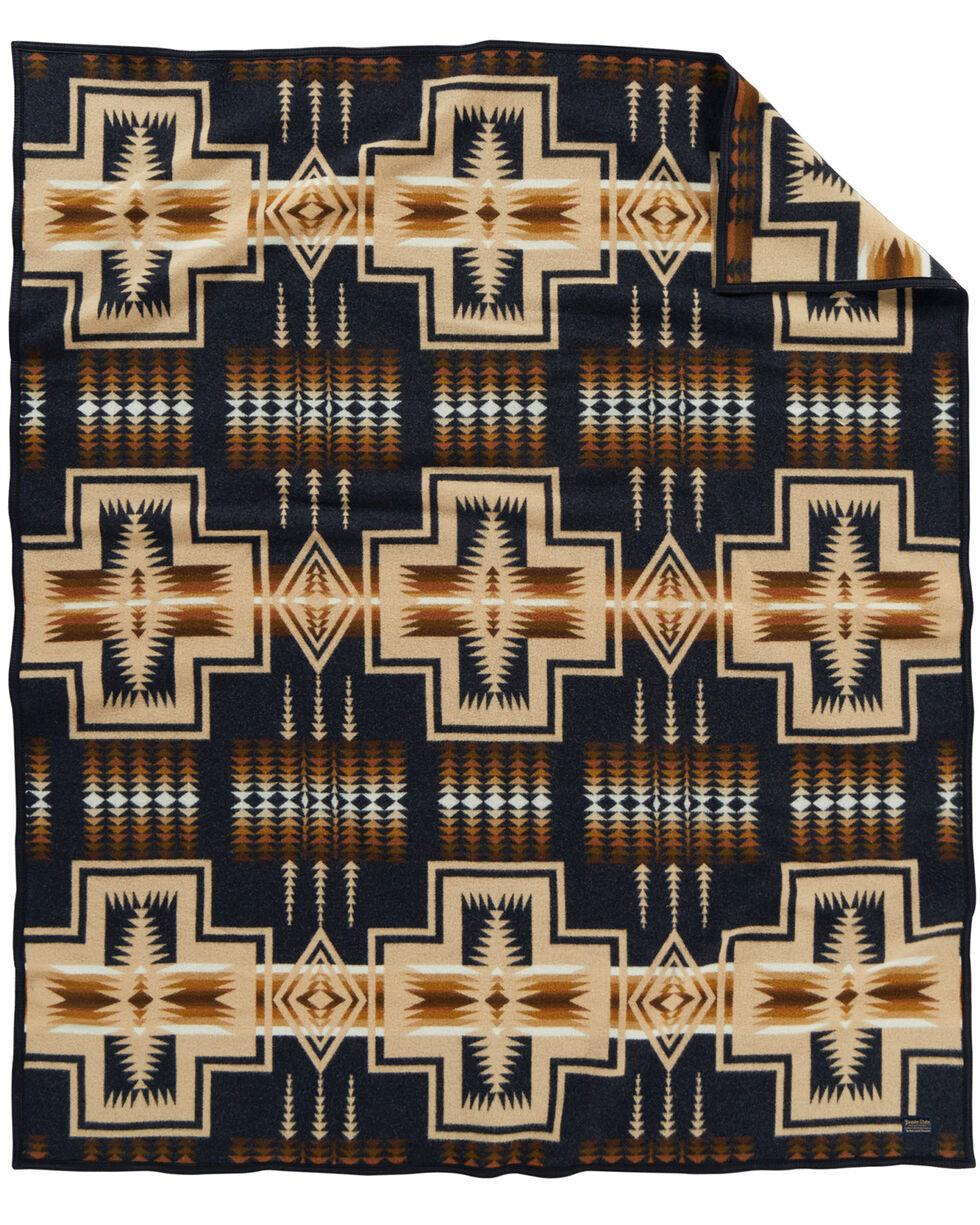 Pendleton Harding Oxford Robe Blanket , Navy, hi-res