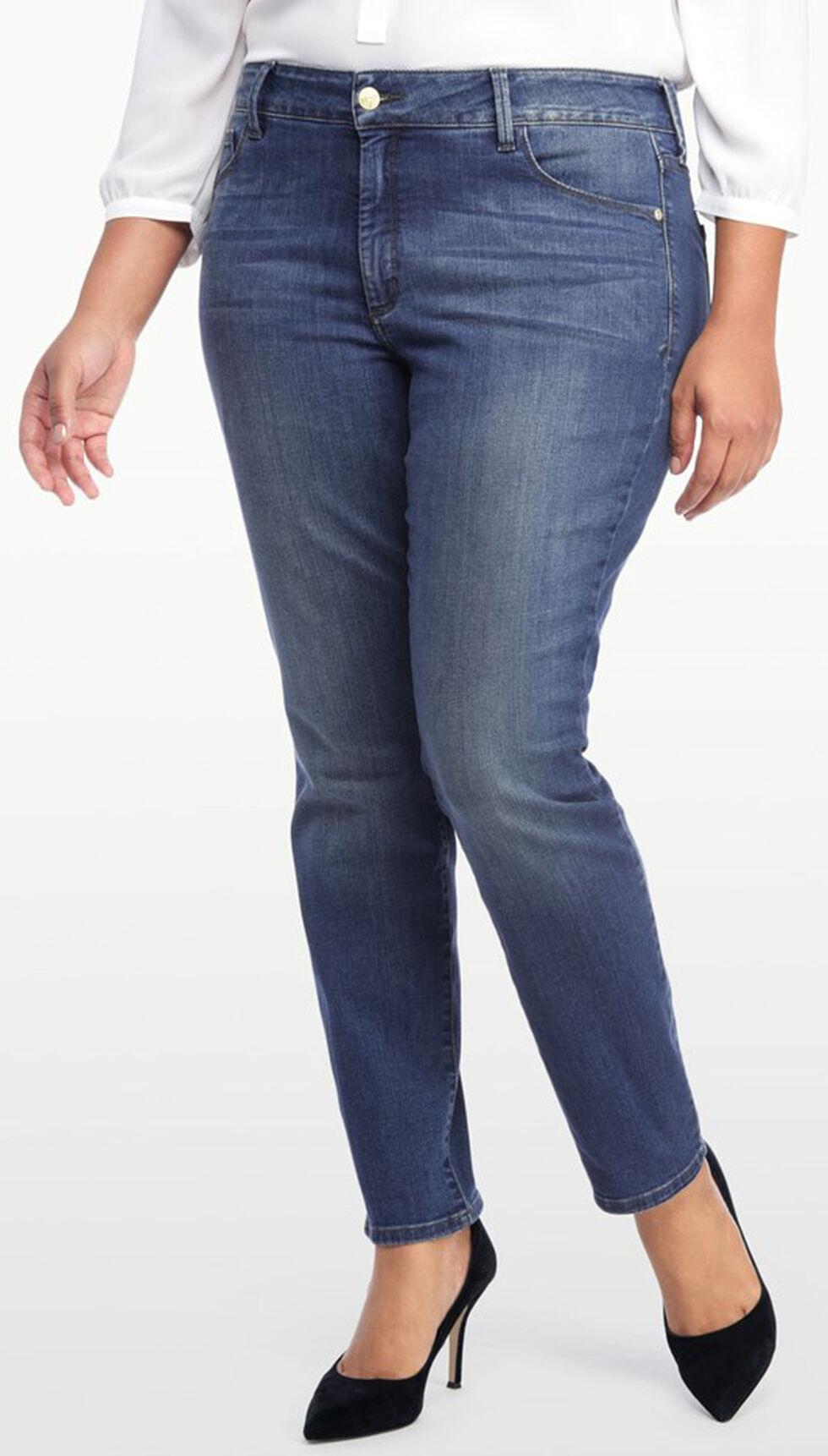 NYDJ Women's Alina Legging Jeans - Plus, Indigo, hi-res