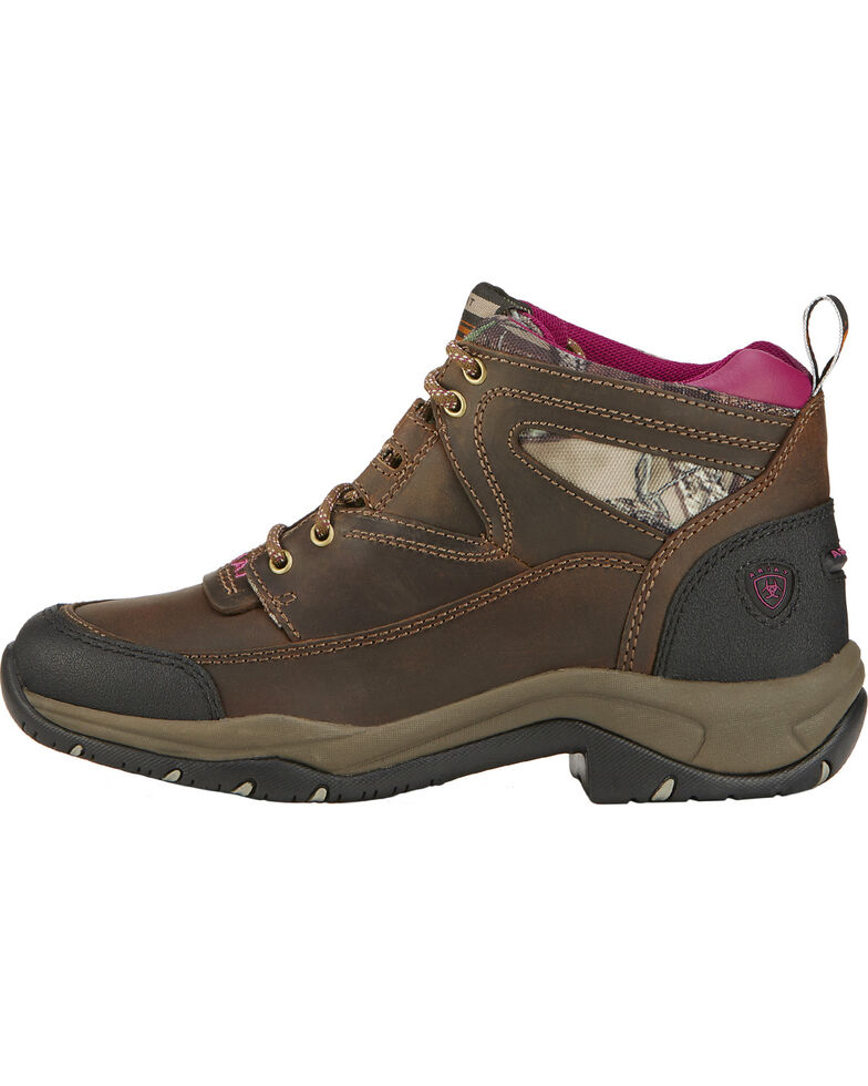 Ariat Terrain Women's Hiking Boots, Brown, hi-res