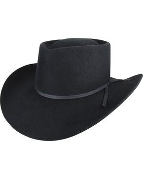 Bailey Men's Black Vagabond 2X Hat , Black, hi-res
