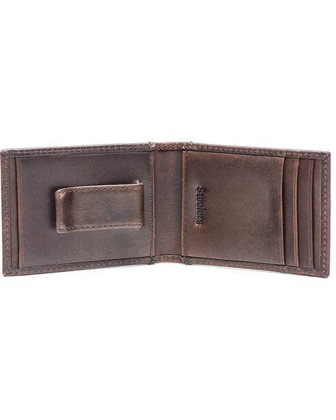 Jack Mason Men's Pittsburgh Legacy Flip Bifold Wallet , Brown, hi-res