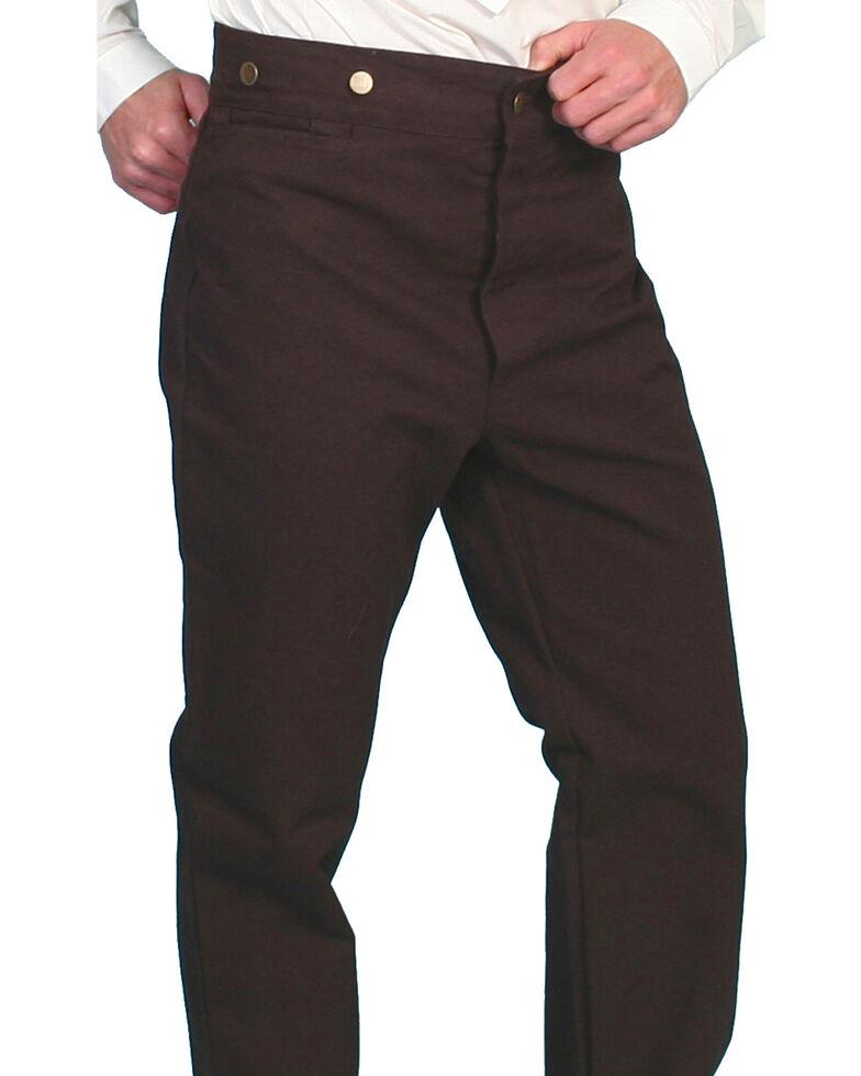 Rangewear by Scully Canvas Pants, Walnut, hi-res